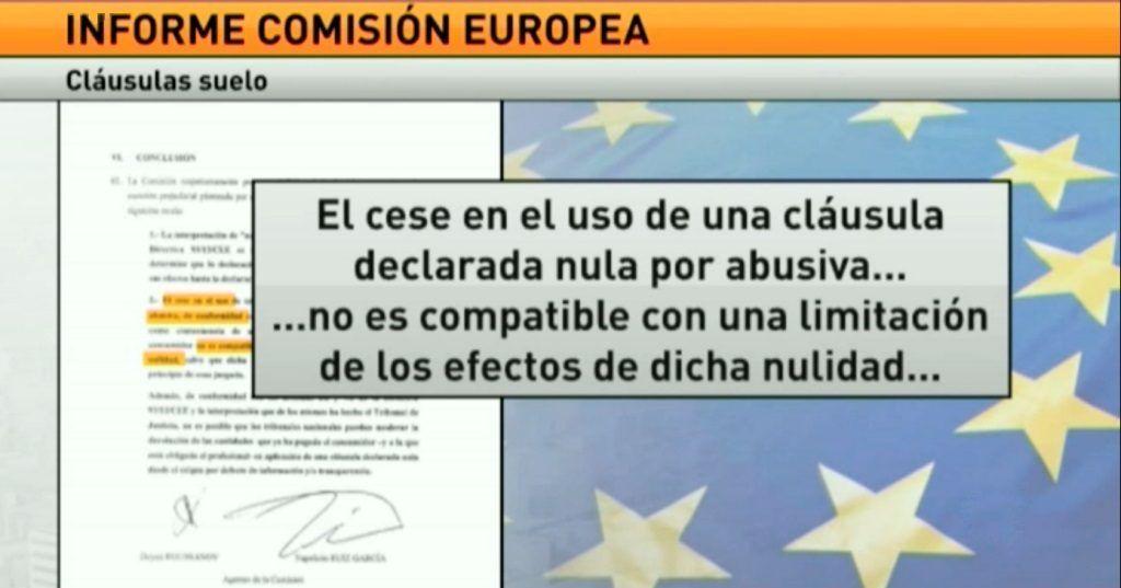Bruselas quiere que los bancos devuelvan todos los cobros for Bancos devolver clausulas suelo
