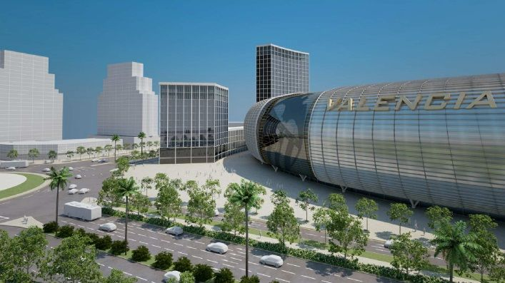 El pelotazo urbanístico de Mestalla financiado con el dinero de Bankia