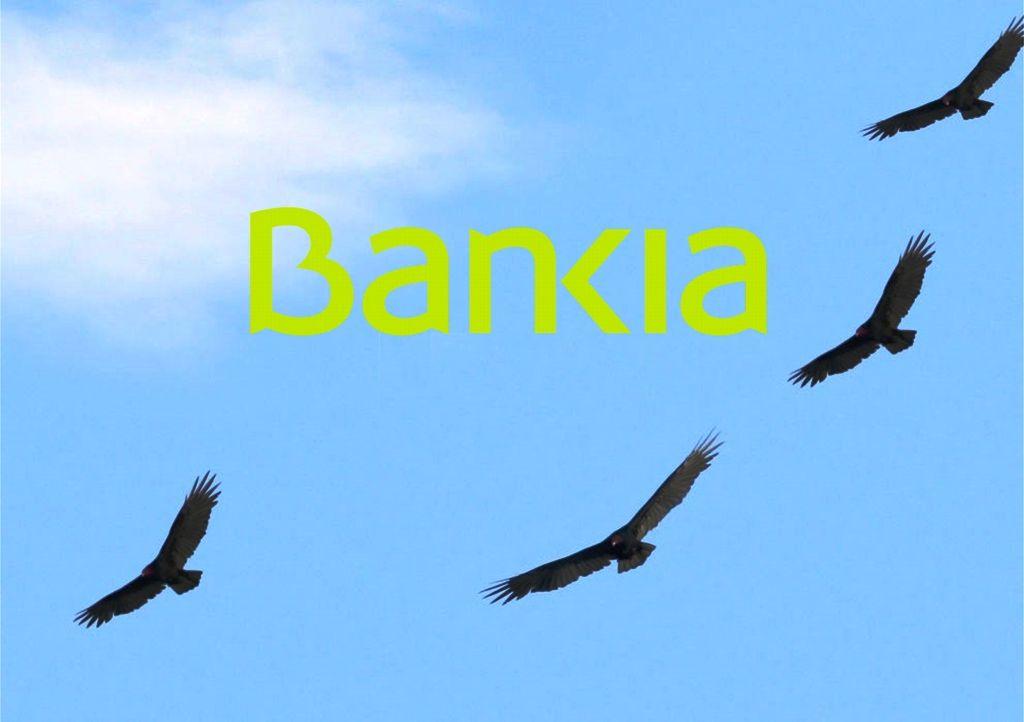 Cuatro ´fondos buitre´ pujan por una cartera de hipotecas morosas de Bankia