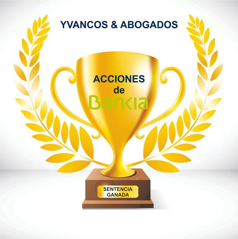 Yvancos Abogados consigue en 42 días una sentencia favorable por Acciones de Bankia