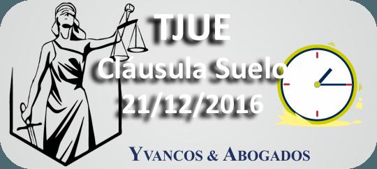 Hoy el TJUE decide sobre la cláusula suelo